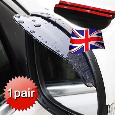 1Pair Car Rear View Side Mirror Rain Board Eyebrow Guard Sun Visor Accessories