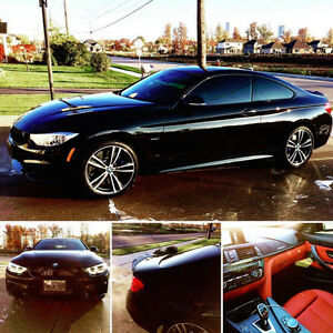 2016 BMW 435xi m-sport + fully loaded + extras + no Km limit!