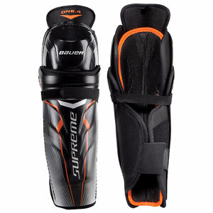 """BAUER - Supreme One.4 Youth Shin Guards - SIZE 10"""""""