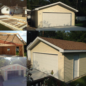 Decks, Fences, Garages, and more