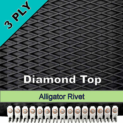 John Deere Baler Belts 4- 7x 525 4- 7 X 531 Alligator Rivet 8 Belt Set