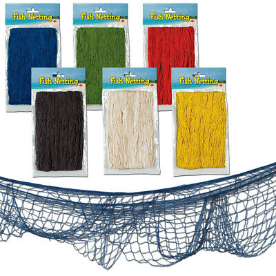 Fish Netting - Assorted Colors - Colored Fish Netting