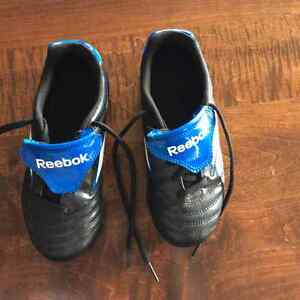 Youth Size 1 Reebok Cleats