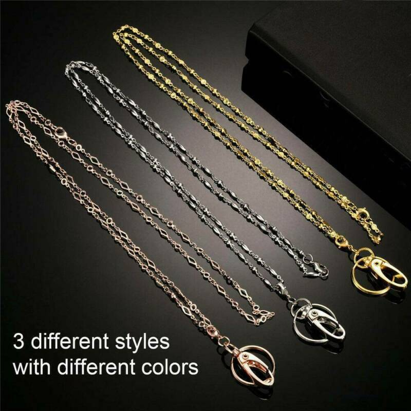Stylish Neck Chain Work Necklace Long Lanyard Keychain For I