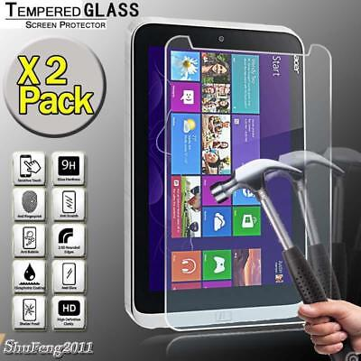 2 Pack Tempered Glass Screen Protector For Acer Iconia W3 810