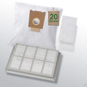 20 staubsaugerbeutel hepa filter passend f r siemens vs59e80 06 09 bag bagless ebay. Black Bedroom Furniture Sets. Home Design Ideas