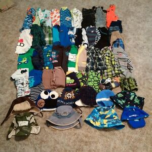 bundle of baby boy clothes - sizes 6 - 12 months