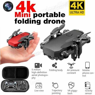 LF606 Foldable RC Drones 2.4G With HD 4K Camera WIFI FPV Quadcopter Helicopter