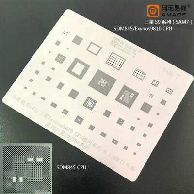 For Samsung S9s9 Snapdragon 845 Pm845 Cpu Chip Bga Stencil Ic Reballing Tin