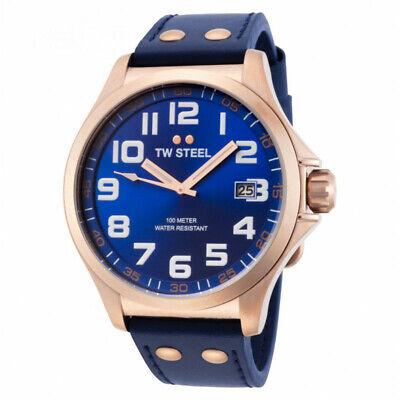 NEW TW Steel Pilot Men's Quartz Watch - TW404