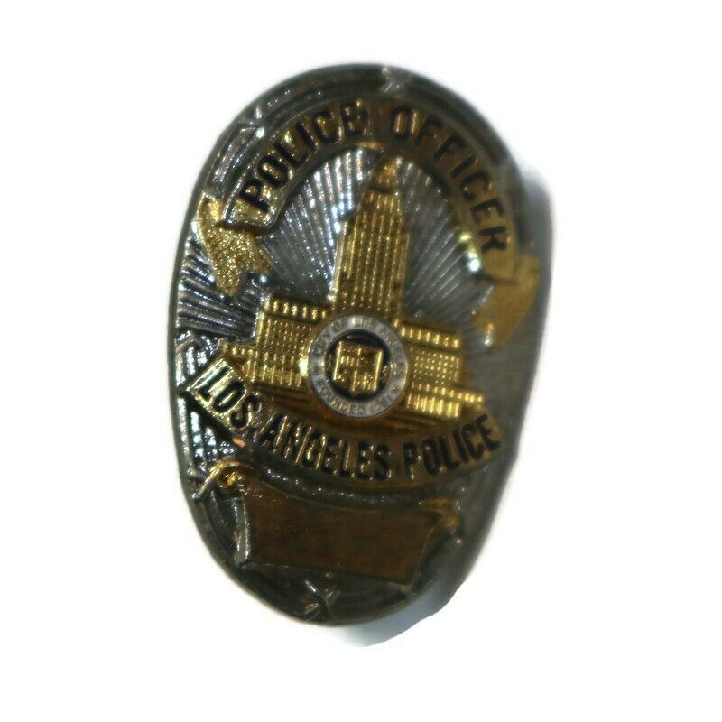 LOS ANGELES CA POLICE LAPD Officer Vintage Police Lapel Hat Pin