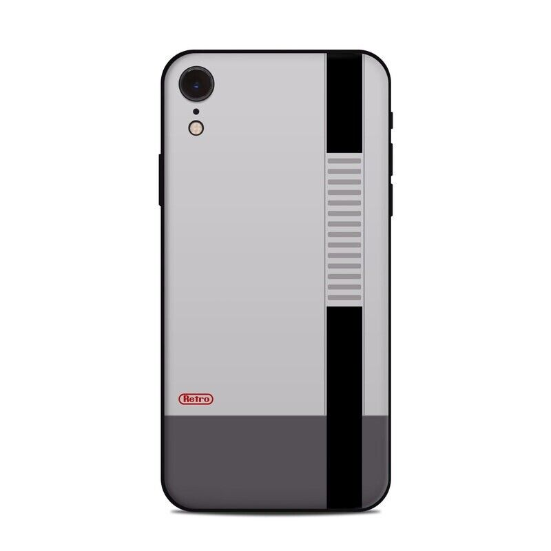 iPhone Xr Skin - Retro Horizontal - Sticker Decal