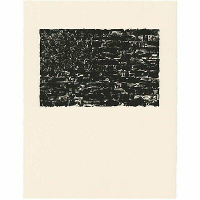 Jasper Johns 'Flag I' ULAE offset lithographic facsimile Un-Signed print