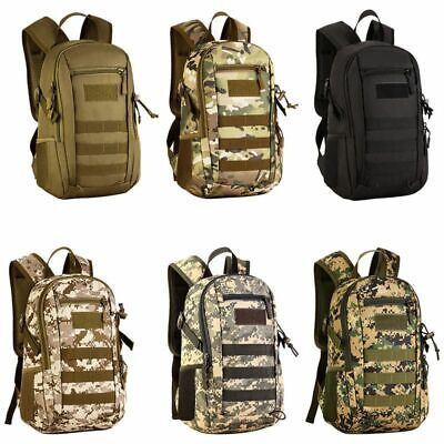 12L Molle Outdoor Military Tactical Backpack Camouflage Hiking Trekking - Camouflage Backpacks
