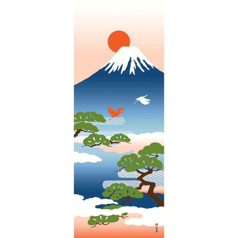 Japanese Cotton Hand Towel HAMAMONYO Picture Tenugui /'Sunset of Kyoto JAPAN/'