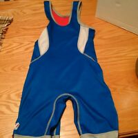 Wrestling Shoes and Wrestling Singlet