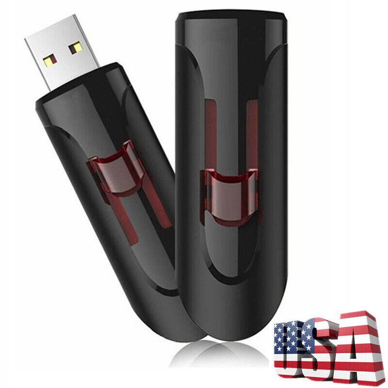 2TB 256GB USB Flash Drive Thumb U Disk Memory Stick Pen PC Laptop Storage USA