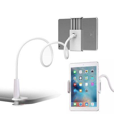 360° Bett Halterung Halter Ständer für iPad 2 3 4 Air Samsung Tablet Tisch Weiß