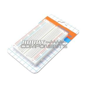 HOBBY-COMPONENTS-LTD-Breadboard-400-Point-Solderless-PCB-Bread-Board