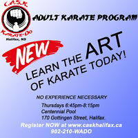Adult Karate Classes! Reg. NOW For May!