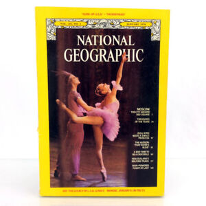 January 1978 National Geographic Magazine Issue Moscow City