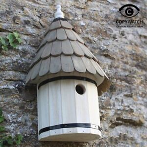 Wildlife World Decorative Traditional Dovecote Nestbox Garden Bird Birds Gift