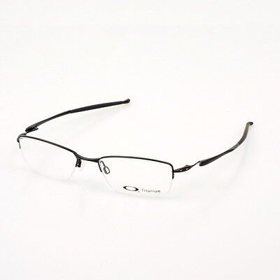 Eyeglass Frames-Oakley TRANSISTOR 22-215 Polished Black 54mm Titanium Glasses