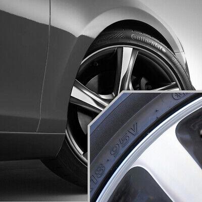 Wheel Bands Silver in Silver Pinstripe Rim Edge Trim For Volvo (Full Kit)