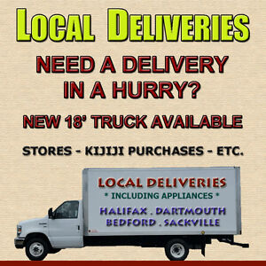 PICKUP AND DELIVERY - METRO HALIFAX PROMPT SERVICE; GREAT RATES
