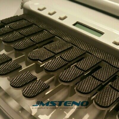 Steno Writer Keytop Covers Genuine Textured Rubber For Stenograph