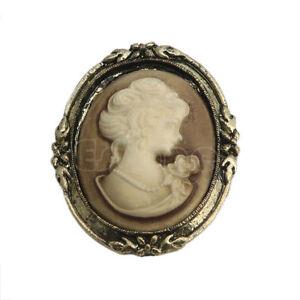 1pc-Queen-Lady-Cameo-Black-Enamel-Bronze-Brooch-Pin