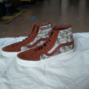 High Top Vans Sneakers - Excellent Condition