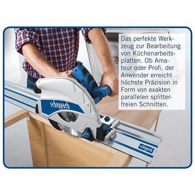 Scheppach Tauchsäge PL75 inkl. Zubehör Handkreissäge+Führungsschiene+Kippschutz