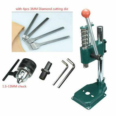 Diy Leather Cutting Imprinting Machine Mute Manual Punching Bronzing Machine Ax