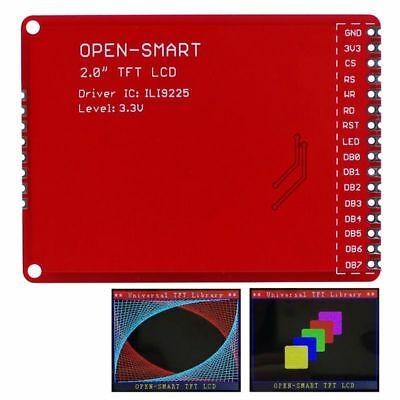 2.0tft Lcd Shield Expansion Module W Smd Pins For Arduino Uno R3 Nano Mega2560