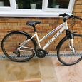 Carrera crossfire women bike Evrthing works  After service  Front susp