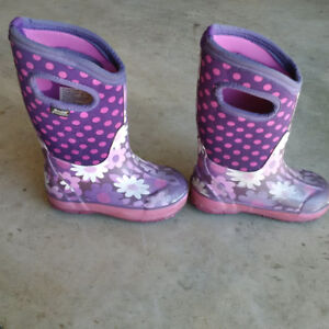 Bogs Girls Winter Boots Size 10 Youth