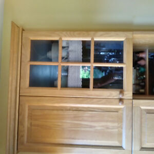 Older Ikea Akurum Vocal Oak  raised panel kitchen doors doors