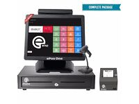 All in one ePOS POS cash register, complete package