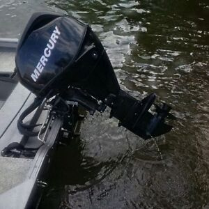 25 HP 4-Stroke Long-shaft Mercury Outboard Motor with Controls