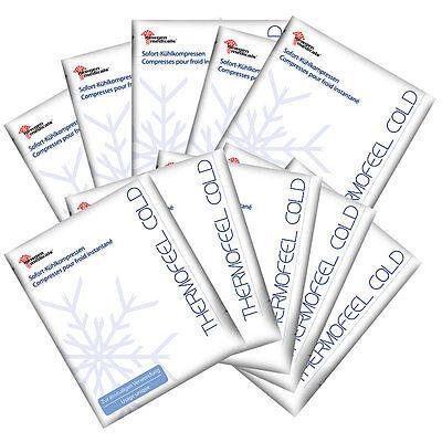 Kühlpads: Sofort-Kühlkompressen im 10er-Vorteils-Pack (Kühlpack)