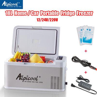 Used, Alpicool 18L 12/24/220V Home Portable Freeze