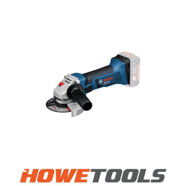 """BOSCH GWS 18 V-LI BODY 18v Angle grinder 4.1/2"""" (115mm)"""