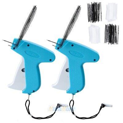 2 Garment Clothing Price Label Tagging Tag Tagger Gun 4000 Barbs 4 Needles