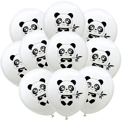 10pcs Panda Balloons Latex Balloon Baby Shower Birthday Party Decoration SL