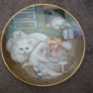Country Kitties plate collection London Ontario image 4