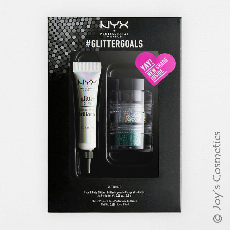 1 NYX Glitter Primer & Powder Set #GlitterGoals