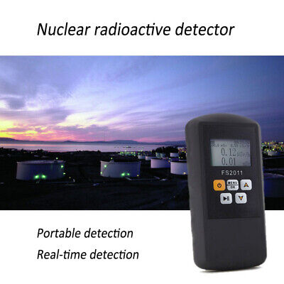 Geiger Counter Nuclear Radiation Detector Beta Gamma X-ray Marble Tester Meter