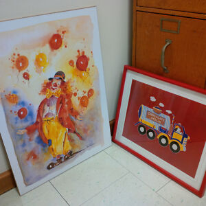 children's wall prints and room decor