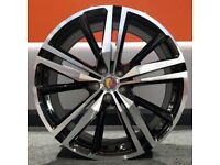 """20"""" XC60 R-Design Style Alloy Wheel and Tyre Package 5X108 Volvo XC60"""